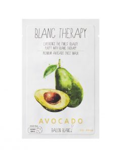 Ballon Blanc Therapy Avocado Sheet Mask