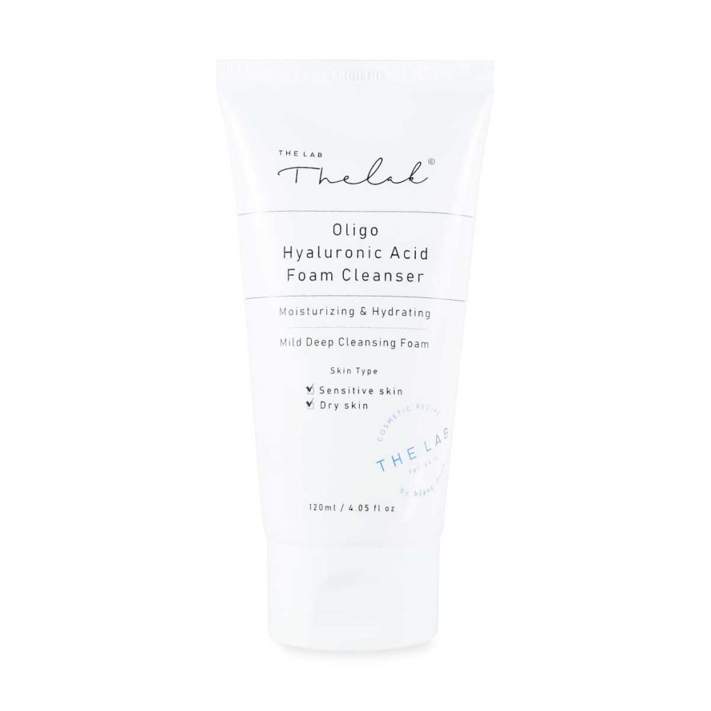 THE LAB by blanc doux Oligo Hyaluronic Acid Foam Cleanser