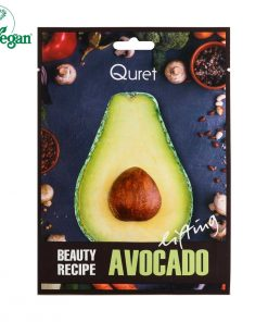 Quret Beauty Recipe Mask - Avocado