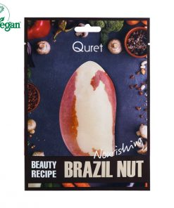 Quret Beauty Recipe Mask - Brazil Nut [Nourishing]