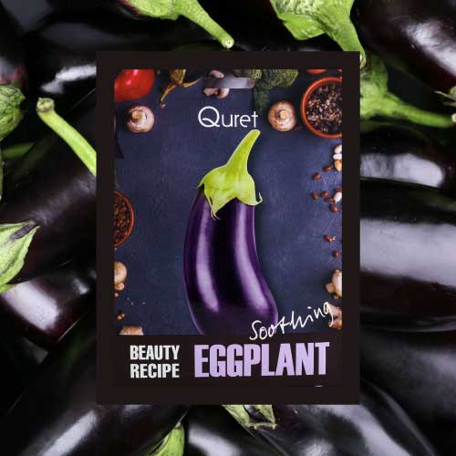 Quret Beauty Recipe Mask - Eggplant [Soothing]