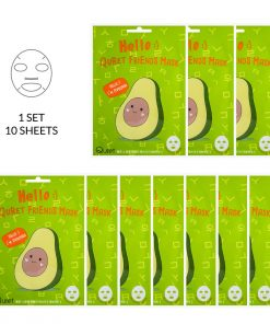 Hello :) Quret Friends Avocado Mask 10 Pack