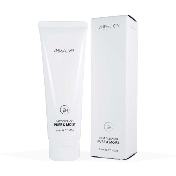 2NDESIGN First Cleanser Pure & Moist 120ml