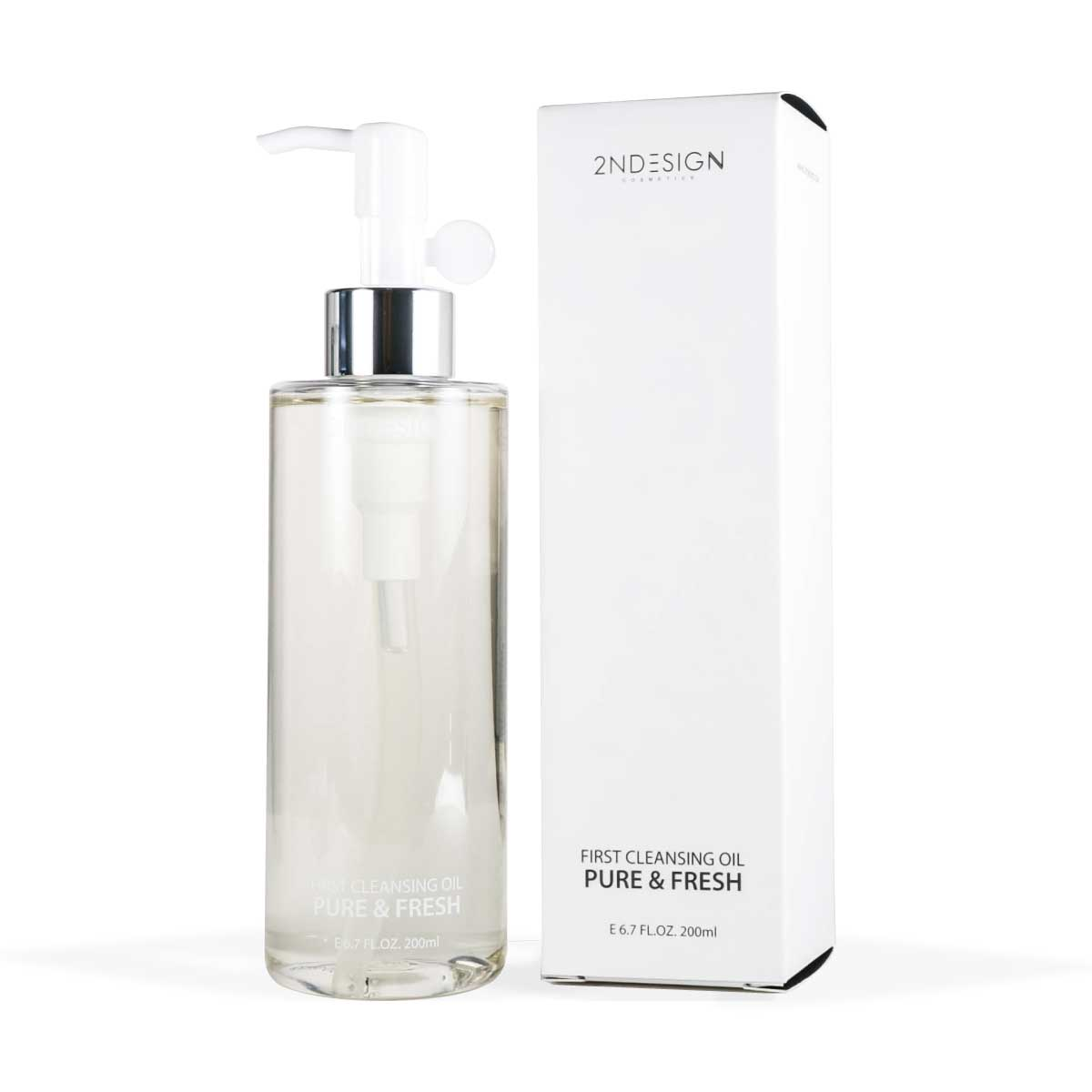 2NDESIGN First Cleansing Oil Pure & Fresh White 200ml