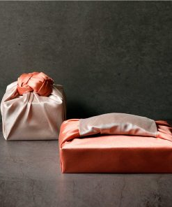 JOAHYE Bojagi Wrapping Service – Bojagi Large [Orange & Ivory]