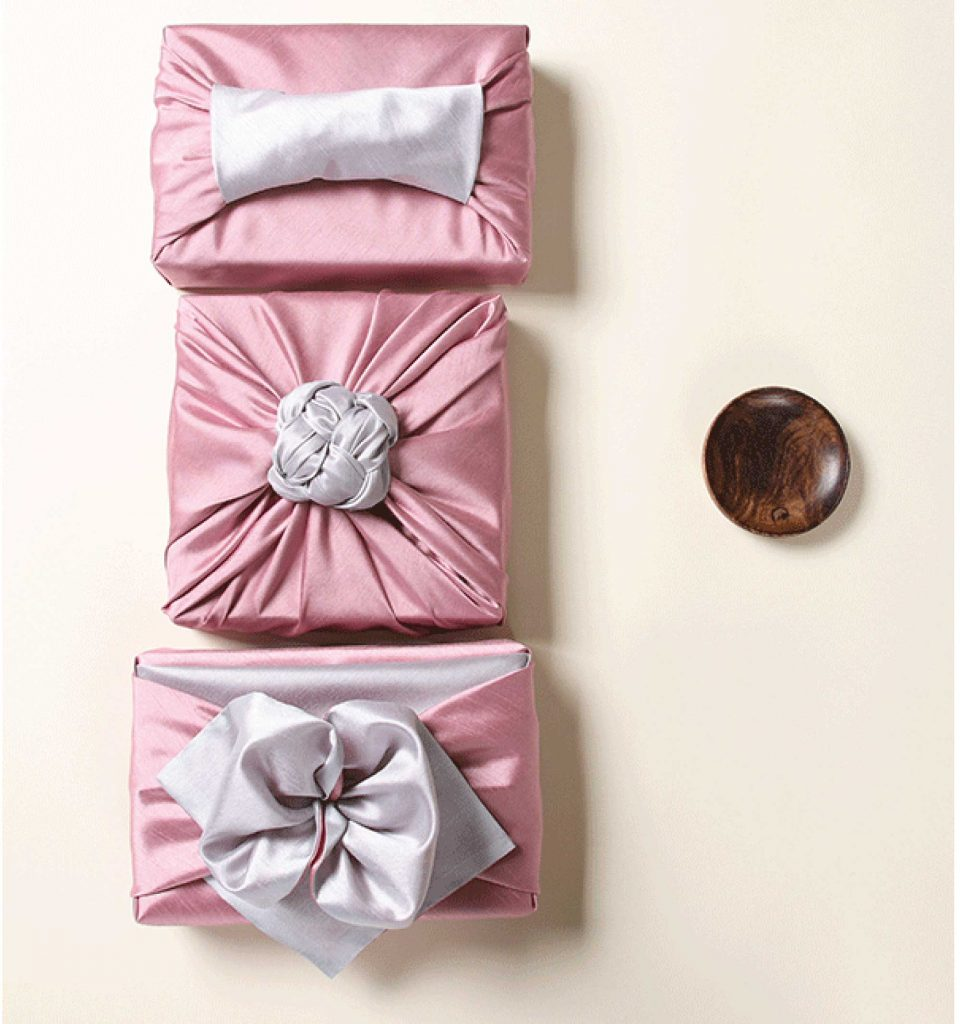 JOAHYE Gift Wrapping Service – Bojagi Large [Indie Pink & Silver]
