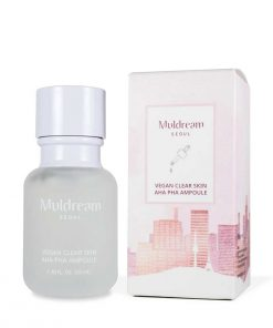 Muldream Vegan Clear Skin Aha Pha Ampoule 60ml
