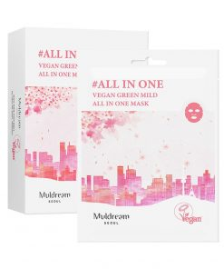 Muldream Vegan Green Mild All In One Mask