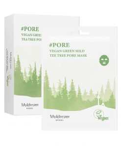 Muldream Vegan Green Mild Tea Tree Pore Mask