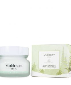 Muldream Vegan Green Mild Fresh Facial Cream 60g